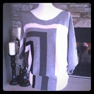 BCBGMAXAZRIA Grey Sweater